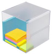 Organiser-System CUBE glasklar