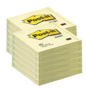 Haftnotizen 76 x 76mm gelb
