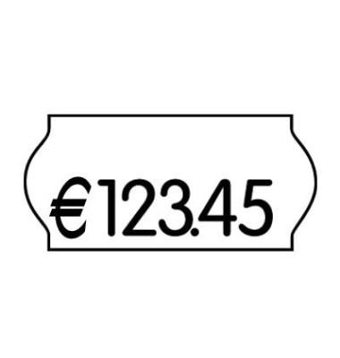 Preisetiketten 70-030-0-200, 26x12mm, weiß wiederablösbar, 54.000 Etiketten