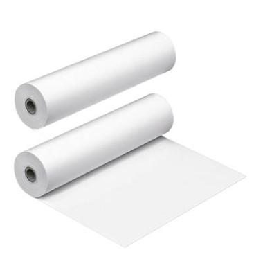 Faxrollen 216mm x 30m Kern-Ø 12mm weiß 2 Stück
