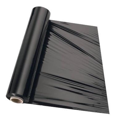 Stretchfolie schwarz 260m x 50cm 23my