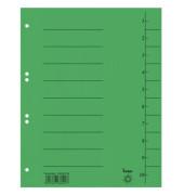 Trennblätter 98300 A4 signalgrün 210g 50 Blatt