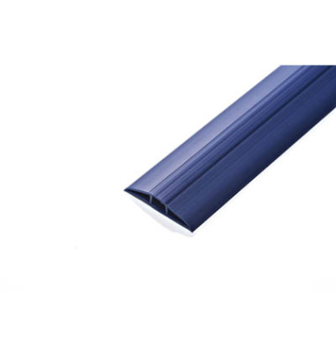 Kabelbrücke Toploader blau RAL 5013 6,2 cm x 1,5 m (BxL)