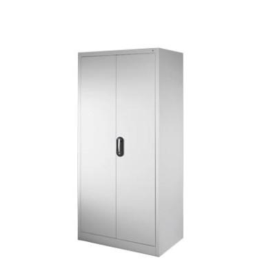 Aktenschrank 9260-100, Stahl abschließbar, 4 OH, 93 x 195 x 40 cm, lichtgrau