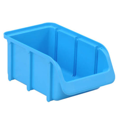 Sichtlagerkasten blau 0,73 Liter 102x164x74mm