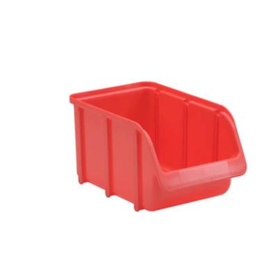 Sichtlagerkasten rot 1,8 l 145 x 240 x 125mm