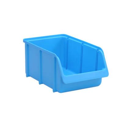 Sichtlagerkasten blau 7,2 Liter 207x332x155mm