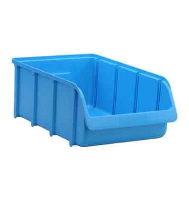 675300 Sichtlagerkasten blau 19,27 Liter