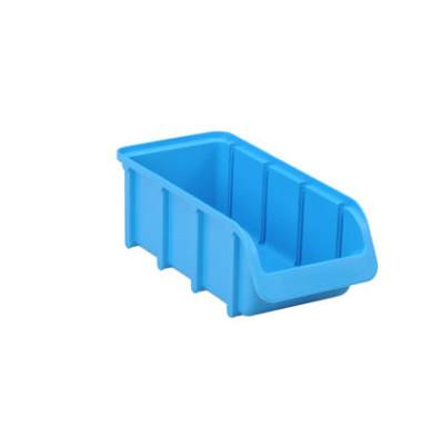 Sichtlagerkasten blau 1 Liter 102x216x74mm