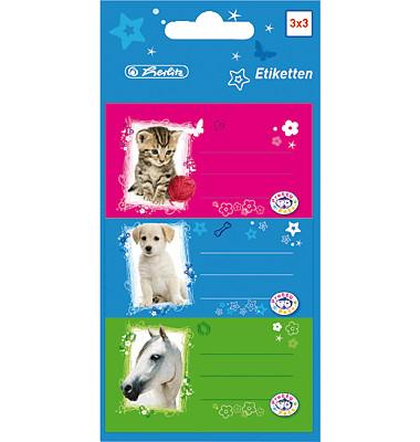 Buchetiketten Pretty Pets/10917326 Inh.9