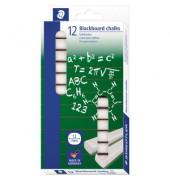 Tafelkreide Alabaster weiß eckig 13x13x90mm 12 Stück