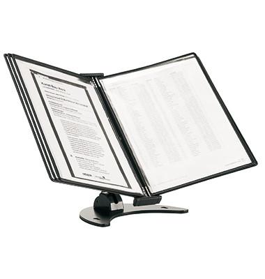 Tischständer 3D Tischständer 10 Sichttafeln/475107 A4 schwarz  PP