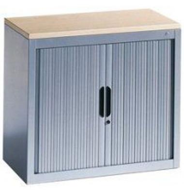 Aktenschrank Omnispace 32430-00/5000-04, Kunststoff/Stahl abschließbar, 3 OH, 120 x 103 x 42 cm, ahorn/lichtgrau