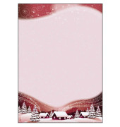 Weihnachtspapier Silent Night A4 100 Blatt