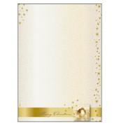 Weihnachtspapier Golden Times A4 100 Blatt DP033