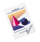 Briefblock A4 weiß kariert gelocht 50 Blatt / 10 Blöcke