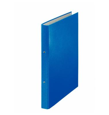 Ringbuch A4 blau 2-Ring Ø 20mm