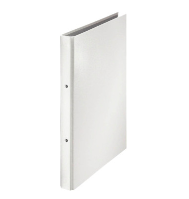 Ringbuch 123612WS A4 weiß 2-Ring Ø 20mm Kunststoff