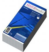 Briefumschläge Din Lang ohne Fenster selbstklebend 72g weiß 100 Stück