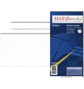 Briefumschläge Din Lang ohne Fenster selbstklebend 72g weiß 25 Stück