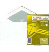 Briefumschläge C6 ohne Fenster selbstklebend 72g weiß 100 Stück