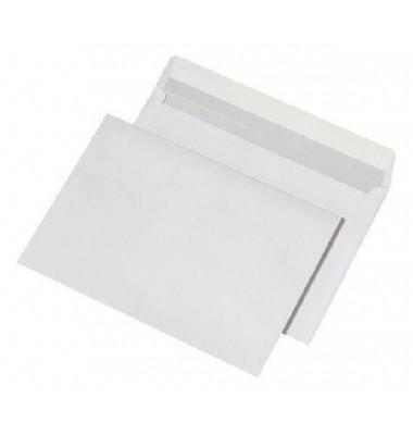 Versandtaschen C5 ohne Fenster haftklebend 100g weiß 500 Stück