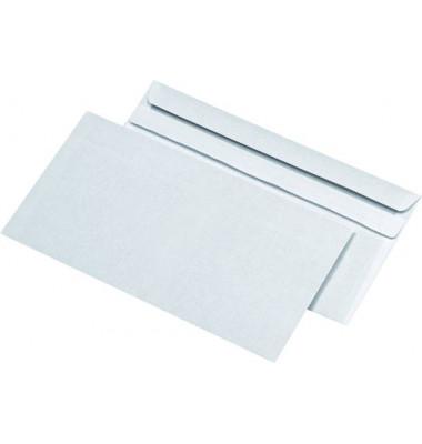 Briefumschläge Kompakt ohne Fenster selbstklebend 75g weiß 1000 Stück