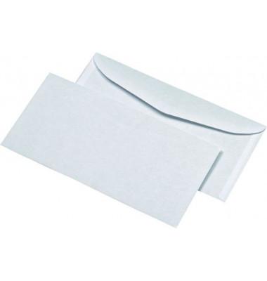 Briefumschläge Kuvermatik Din Lang+ ohne Fenster nassklebend 75g weiß 1000 Stück