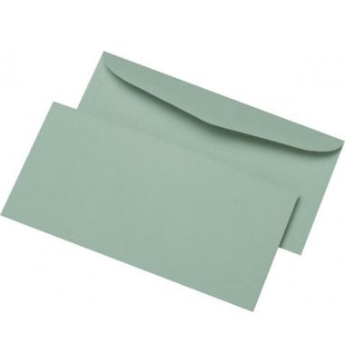 Kuvertierhüllen C6/5 ohne Fenster nassklebend 75g grau 1000 Stück Recycling