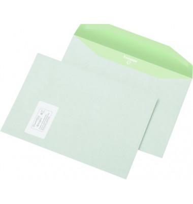 Kuvertierumschläge Envirelope C4 mit Fenster nassklebend 90g weiß 500 Stück
