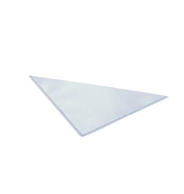 Dreieckstaschen transparent Schenkellängen 17,5 x 17,5 cm