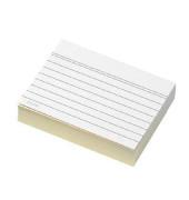 Karteikarten A7 liniert 190g weiß 100 Stück