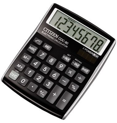 Tischrechner CDC 80 schwarz