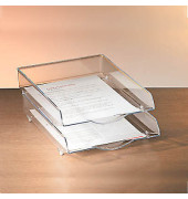Briefablage 216-16 A4 / C4 glasklar stapelbar