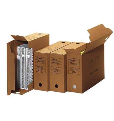 Archivbox universal 50 Stück braun 9,0 l