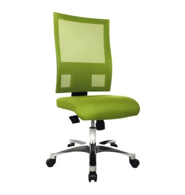 Bürodrehstuhl Nito ohne Armlehnen apfelgrün