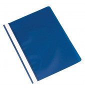Schnellhefter A4 blau PP Kunststoff kaufmännische Heftung bis 250 Blatt