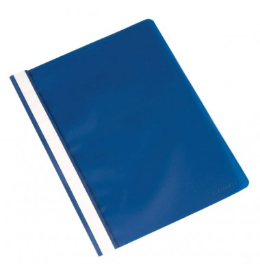 Schnellhefter A4 blau Kunststoff kaufmännische Heftung