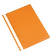 Schnellhefter A4 orange PP Kunststoff kaufmännische Heftung bis 250 Blatt