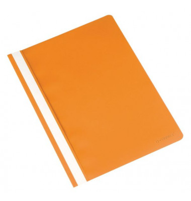 Schnellhefter A4 orange Kunststoff kaufmännische Heftung
