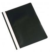 Schnellhefter A4 schwarz Kunststoff kaufmännische Heftung
