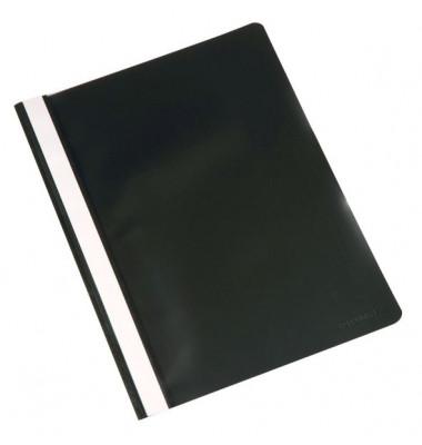 Schnellhefter A4 schwarz PP Kunststoff kaufmännische Heftung bis 250 Blatt