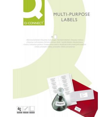 Etiketten 210 x 297 mm weiß 100 Stück