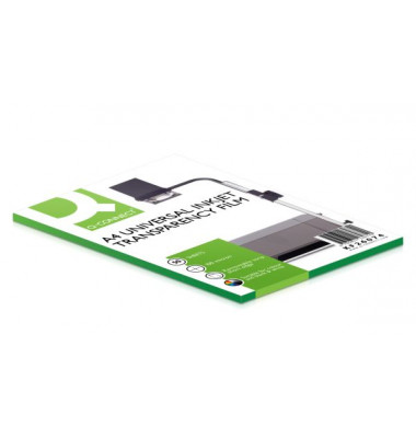 Inkjet-Kopierfolien A4 0,1mm transparent mit Sensorstreifen 50 Blatt