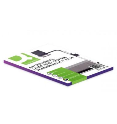 Kopierfolie A4 0,1mm für schwarz/weiß transparent 100 Blatt