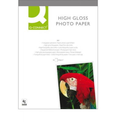Inkjet-Fotopapier A4 High Gloss hochglänzend 260g 20 Blatt