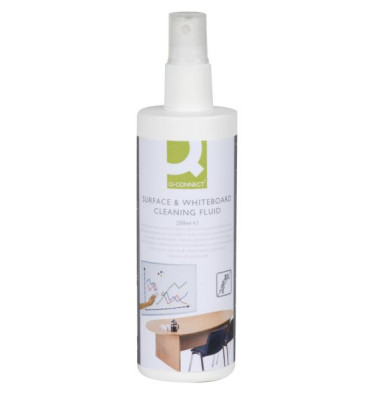Reinigungsflüssigkeit für Whiteboards/Schreibtafeln Pumpspray 250 ml