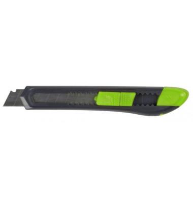Cutter Kunststoffführung silber/grün 18mm Klinge