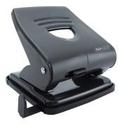 Locher schwarz 3mm 30 Blatt mit Anschlagschiene