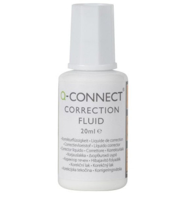 Korrekturflüssigkeit Correction Fluid 20ml White